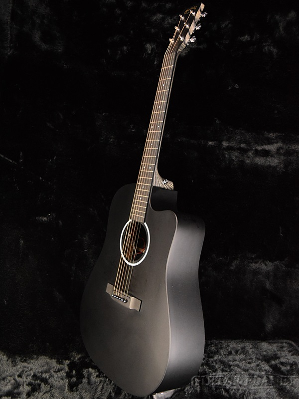 guitar planet martin dcxae black brand new martin black black electric acoustic guitar. Black Bedroom Furniture Sets. Home Design Ideas