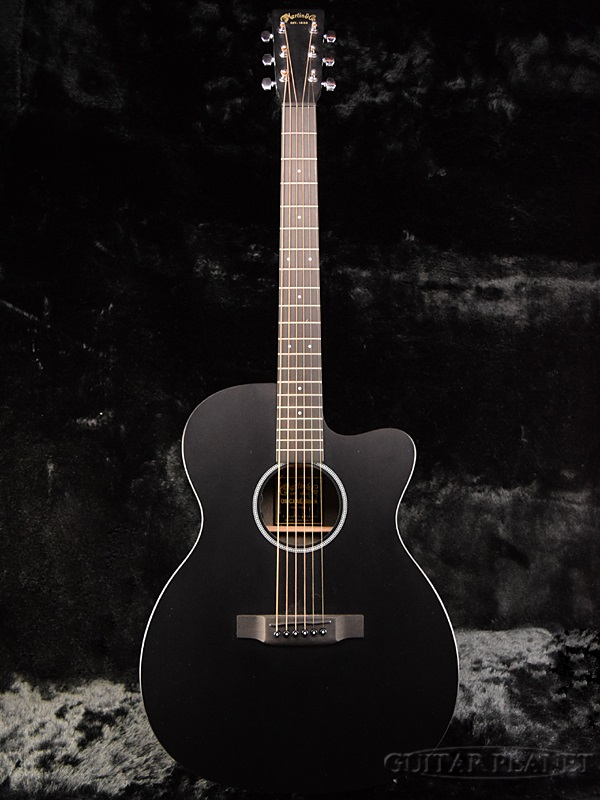 guitar planet martin omcxae black brand new martin black black electric acoustic guitar. Black Bedroom Furniture Sets. Home Design Ideas