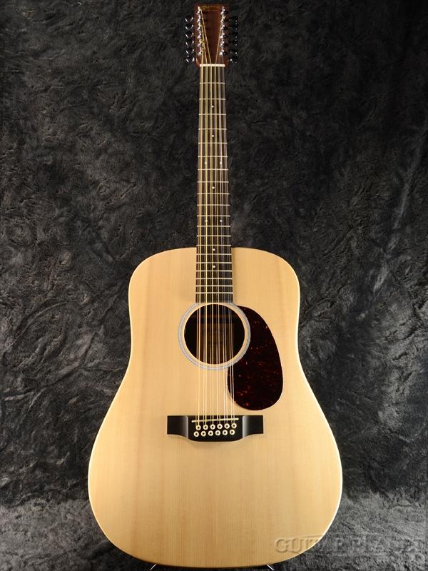 Martin D12X1AE 新品[マーチン][Natural,ナチュラル][12strings,12弦][Electric Acoustic Guitar,アコースティックギター,エレアコ]