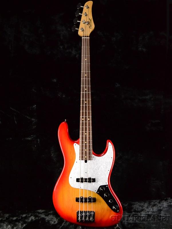 Mike Lull M4V -Fireglo- 新品[マイクルル][Jazz Bass,JB,ジャズベースタイプ][ファイヤーグロー,Cherry Sunburst,チェリーサンバースト][Active,アクティブ][Electric Bass,エレキベース]
