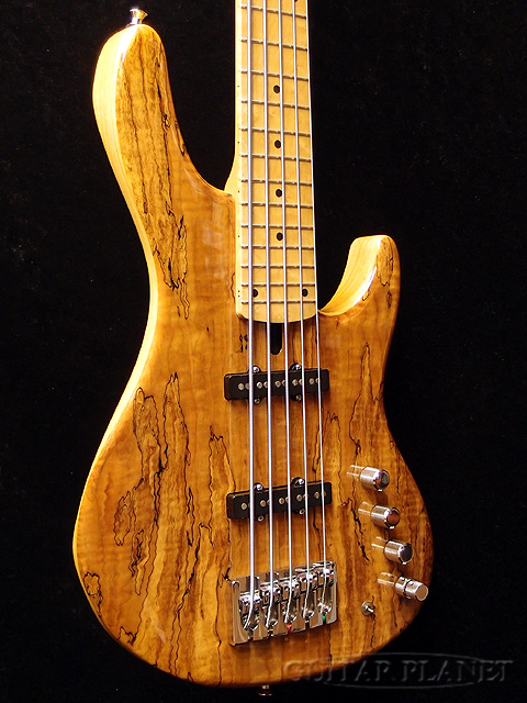 guitar planet mike lull m5 spalted maple top brand new mikell jazz bass jazz bass jb 5. Black Bedroom Furniture Sets. Home Design Ideas