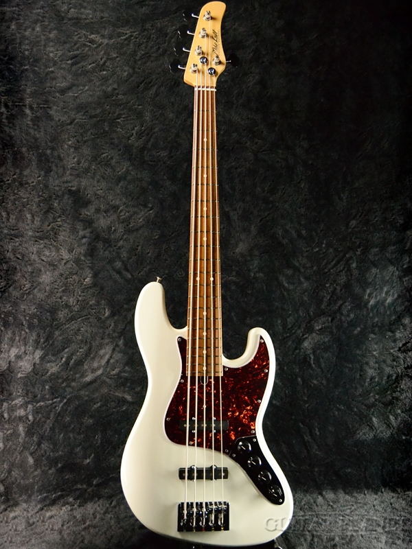 Mike Lull M5V-34 -Olympic White- 新品[マイクルル][オリンピックホワイト,白][5strings,5弦][Jazz Bass,JB,ジャズベースタイプ][Electric Bass,エレキベース]