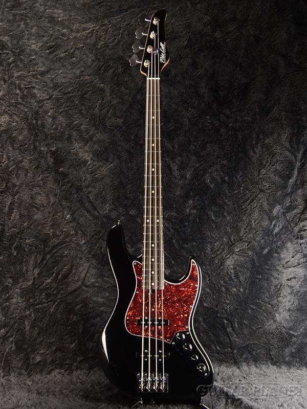 Mike Lull M4V -Gloss Black- 新品[マイクルル][Jazz Bass,ジャズベースタイプ][グロスブラック,黒][Ash,Ebony,アッシュ,エボニー][Active,アクティブ][Electric Bass,エレキベース]