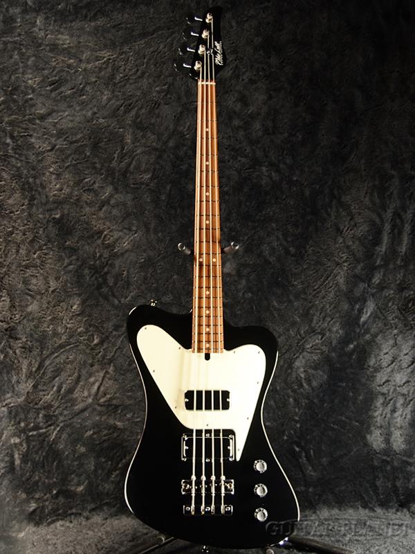 Mike Lull NRT4 -Gloss Black- 新品[マイクルル][グロスブラック,黒][Thunderbird,サンダーバードサイプ][Electric Bass,エレキベース]