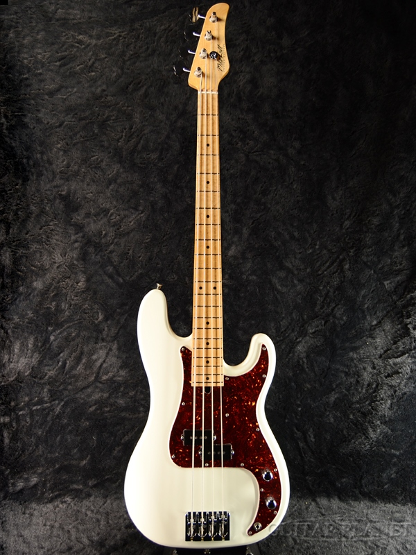 【アウトレット】Mike Lull P4 -Olympic White- 新品[マイクルル][オリンピックホワイト,白][Precision Bass,プレシジョンベース,プレベ,PB][Electric Bass,エレキベース]