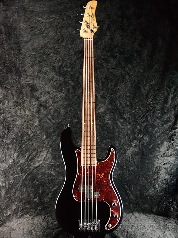 Mike Lull P5 -Black- 新品[マイクルル][ブラック,黒][5strings,5弦][Jazz Bass,JB,ジャズベースタイプ][Electric Bass,エレキベース]