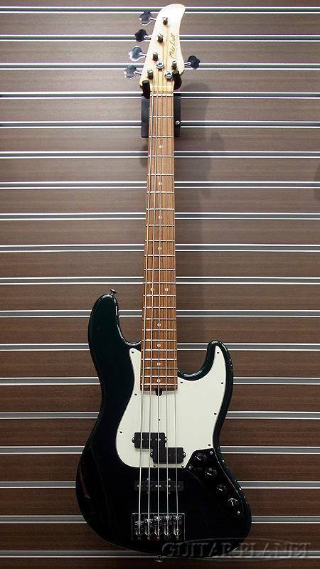 Mike Lull PJ5-34 -Dark Sherwood Green Metallic- 新品[マイクルル][シャーウッドグリーンメタリック,緑][5strings,5弦][Electric Bass,エレキベース]