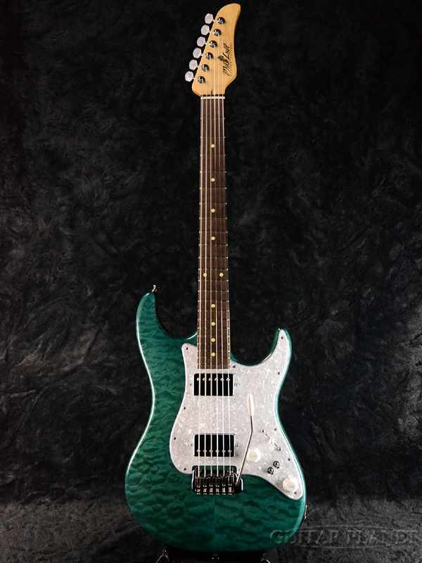 【当店カスタムオーダー品】Mike Lull SX -Pale Greenish Blue- 新品[マイクルル][Stratocaster,ストラトキャスタータイプ][パールグリーニッシュブルー][Electric Guitar,エレキギター]