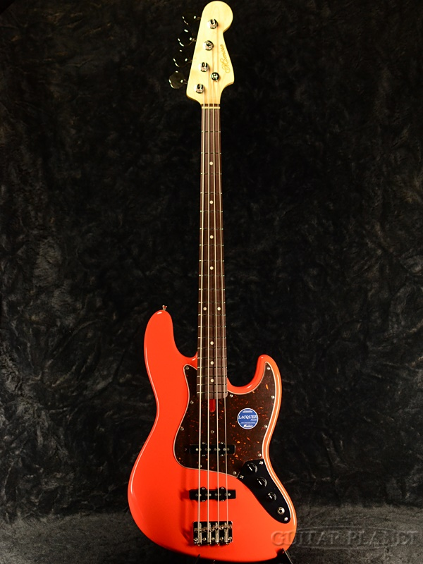 momose MJB1-STD/NJ-GP -Fiesta Red-【鼈甲ピックガード】新品 [モモセ][赤,フェスタレッド][Jazz Bass,JB,ジャズベースタイプ][Electric Bass,エレキベース]