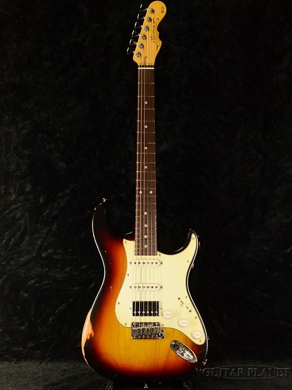 品質は非常に良い 【限定生産1本のみ!!】momose MC-MV/NJ-SP 20R 3TS Relic 新品[モモセ,百瀬][国産][Aged,レリック,エイジド][Sunburst.サンバースト][Stratocaster,ストラトキャスタータイプ][Electric Guitar,エレキギター], YRMS WORKS f74c54e6