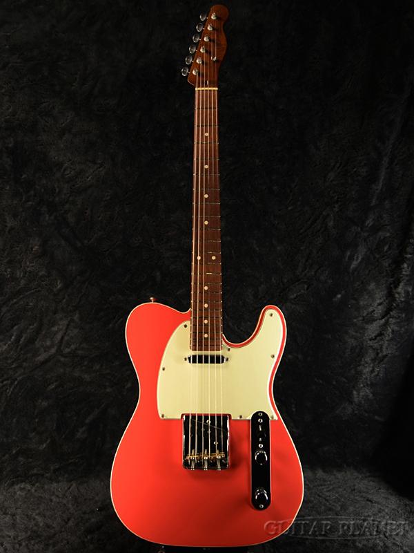 Momose MCT1-WTW/NJ-SP17 FFR 新品 [モモセ,百瀬][国産][エレキギター,Electric Guitar][Telecaster,テレキャスタータイプ][フェスタレッド,Red,赤]
