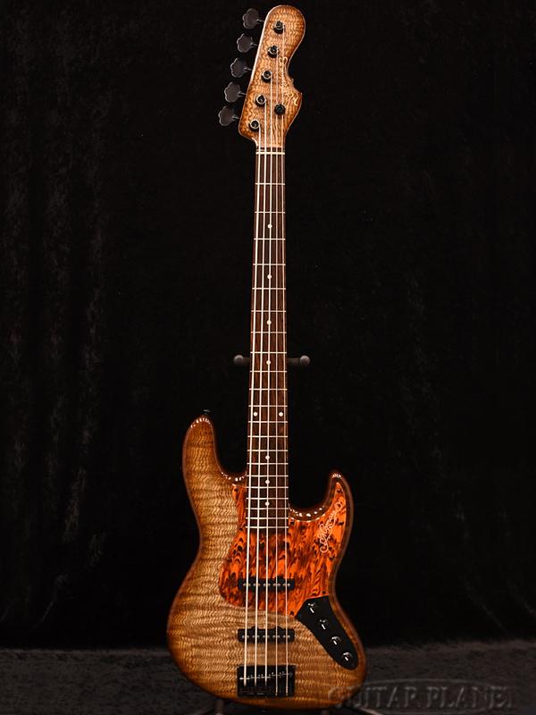 【限定生産モデル】Momose MJ5-EWC/AC-SP17 QTA/NJ BR-BS 新品[モモセ,百瀬][国産/日本製][Jazz Bass,JB,ジャズベースタイプ][5strings,5弦][Brownburst,ブラウンバースト][Electric Bass,エレキベース]