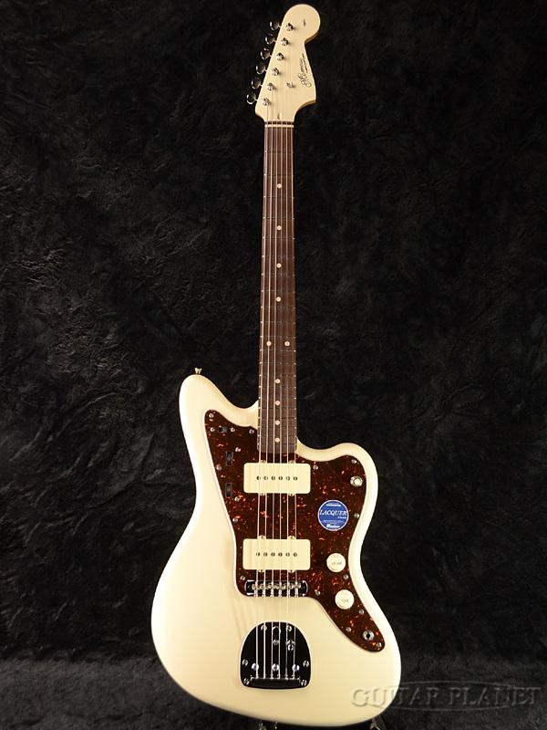 Momose MJM1-STD/NJ OWH-MH 新品[モモセ,百瀬][国産][White,ホワイト,白][Jazzmaster,ジャズマスター][Electric Guitar,エレキギター][動画]