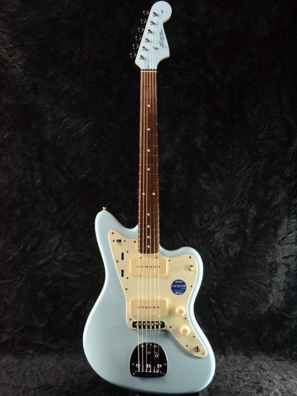 Momose MJM1-STD/NJ SOB-MH 新品[モモセ,百瀬][国産][Sonic Blue,ソニックブルー,青][Jazzmaster,ジャズマスタータイプ][Electric Guitar,エレキギター][動画]
