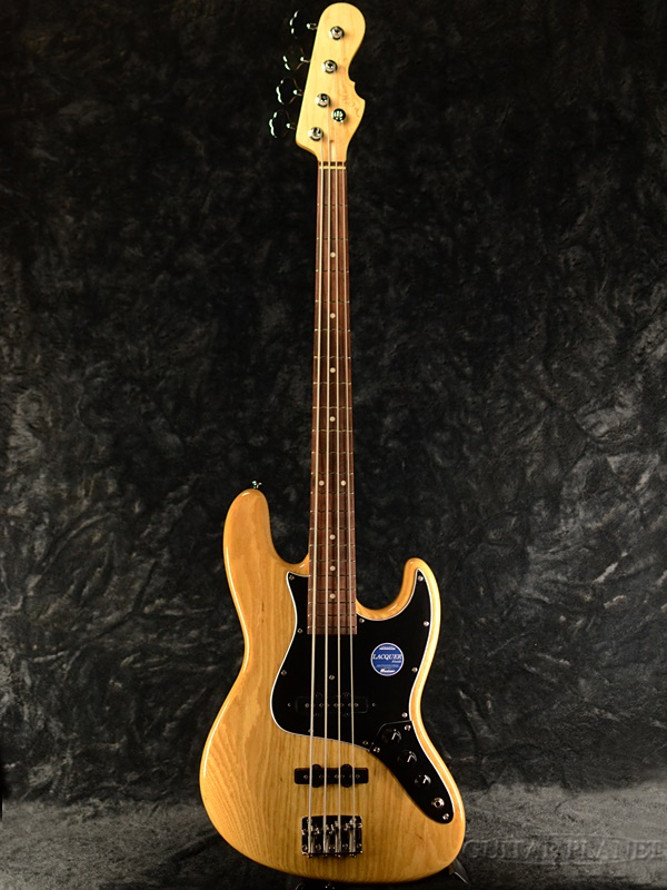 Momose MJ2-STD/NJ -Natural- 新品[モモセ,百瀬][国産][ナチュラル,木目][Jazz Bass,JB,ジャズベースタイプ][Electric Bass,エレキベース]