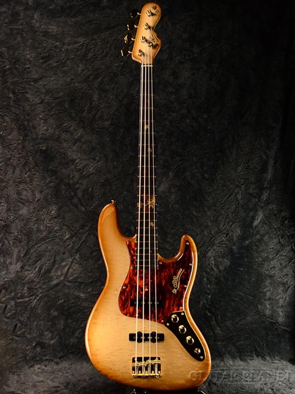 Bass,エレキベース] Leaves-MF'18 MJ-Autumn 【楽器フェアモデル】Momose 新品[モモセ,百瀬][国産][Natural,ナチュラル][Jazz Bass,ジャズベースタイプ,ジャズベ,JB][Electric