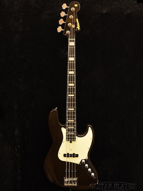 Moon JB-4 Active -Transparet Black- 新品[ムーン][国産][ブラック,黒][Jazz Bass,JB,ジャズベースタイプ][Electric Bass,エレキベース]