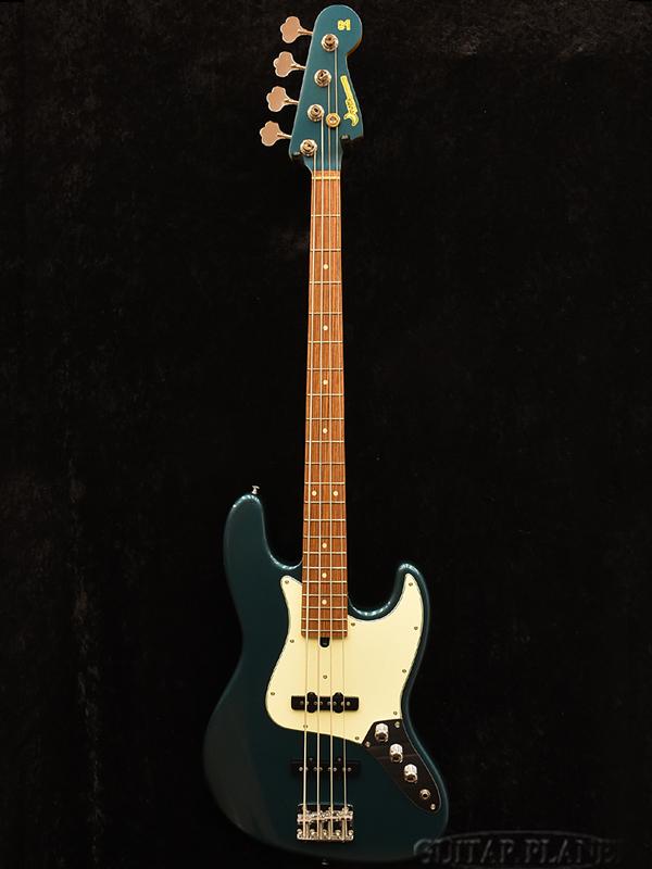 Moon JB-4 Classic -Ocean Turquoise- 新品[ムーン][国産][オーシャンターコイズ,青][Jazz Bass,JB,ジャズベースタイプ][Electric Bass,エレキベース]