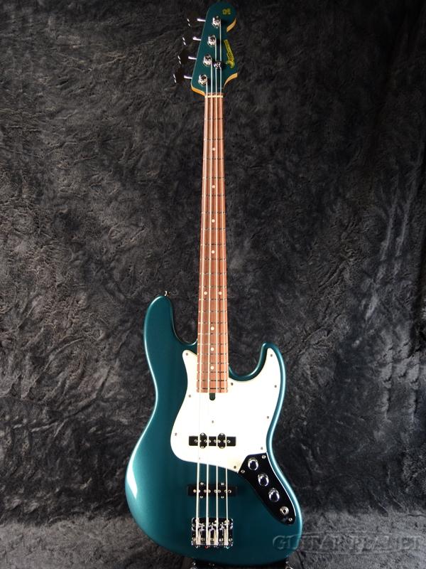 Moon JB-4 Classic -Blue Turquoise- 新品[ムーン][国産][ブルーターコイズ,青][Jazz Bass,JB,ジャズベースタイプ][Electric Bass,エレキベース]