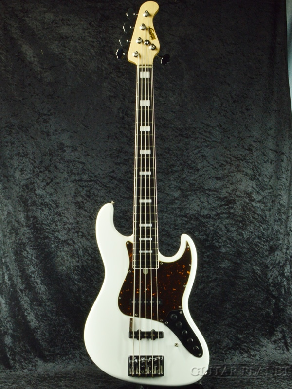 【中古】Moon JB-5 Sutoh Model -SWH-[ムーン][White,ホワイト,白][Bass]【used_ベース】