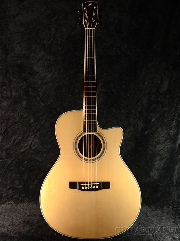 Morris Hand Made Premium Series R-14G 新品[モーリス][国産][Natural,ナチュラル][ピックアップ搭載] [Acoustic Guitar,アコースティックギター,アコギ,Folk Guitar,フォークギター,エレアコ]