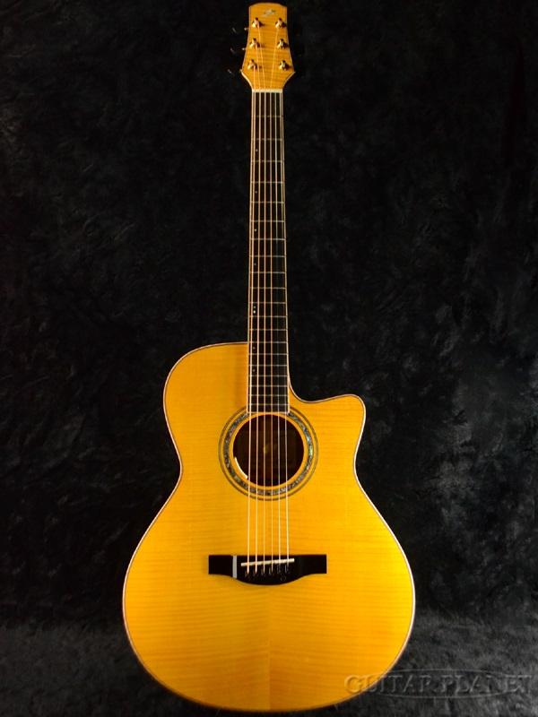 Morris Hand Made Premium Series SC-CUSTOM Yellow 新品[モーリス][国産][イエロー,黄][Electric Acoustic Guitar,アコースティックギター,アコギ,エレアコ]