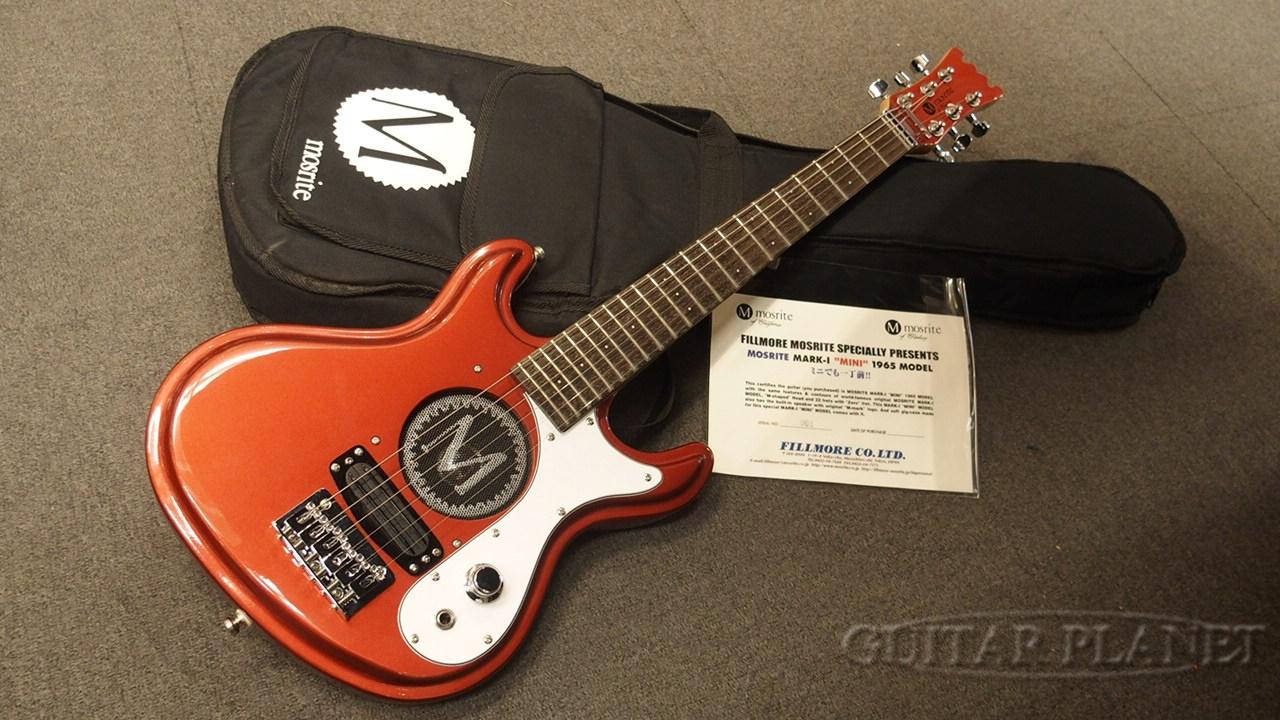 【中古】Mosrite Mark-I ''Mini'' 1965Model -Candy Apple Red- 2010年代製[モズライト][ミニギター][サンバースト][Electric Guitar,エレキギター][#M001]【used_エレキギター】