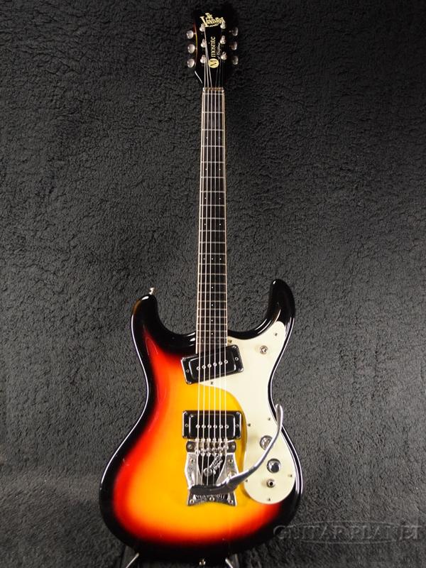 【中古】Mosrite USA V-64 Reissue The Ventures Model -Sunburst- 1990年代頃製[モズライトUSA][ベンチャーズ][サンバースト][Electric Guitar,エレキギター]【used_エレキギター】