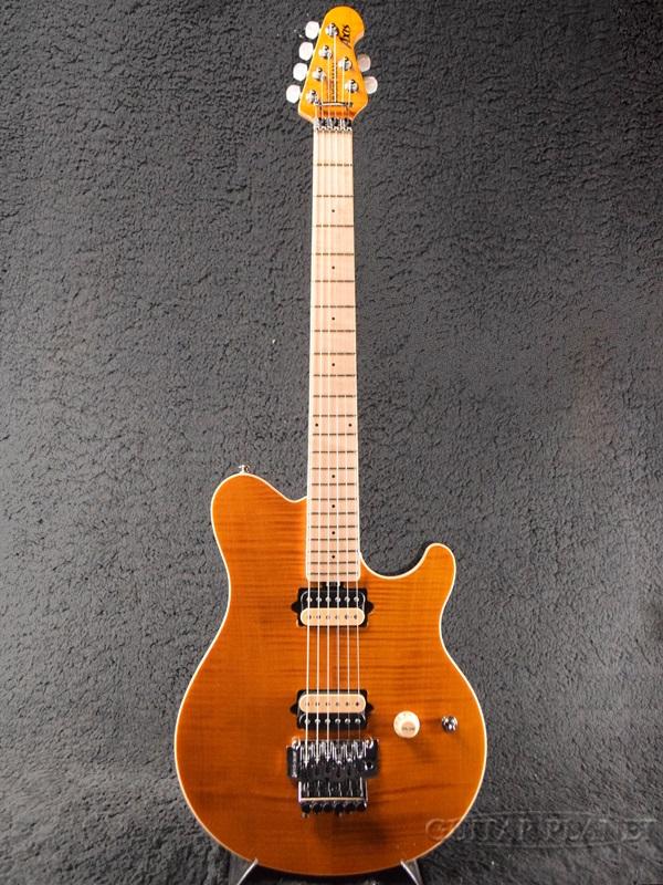MusicMan AXIS USA -Translucent Gold- 新品[ミュージックマン][アクシス][トランスルーセントゴールド,金][エレキギター,Electric Guitar]