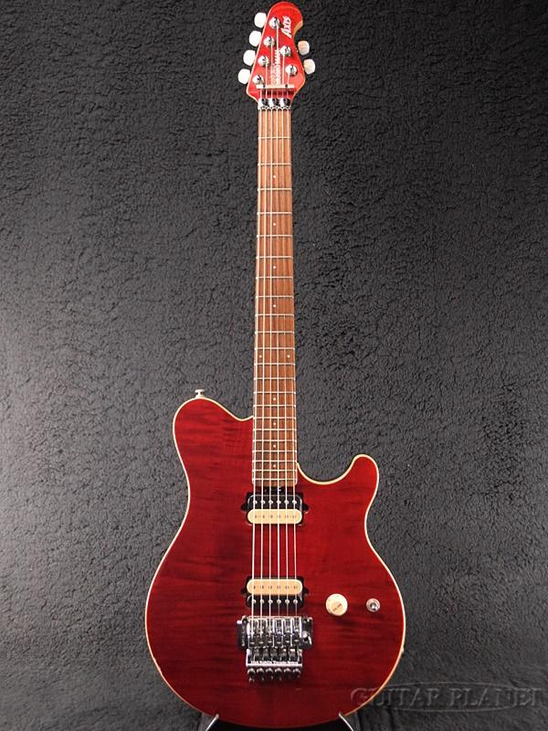 【中古】MUSIC MAN AXIS USA -Trans Red / Rosewood- 2010年代製[ミュージックマン][アクシス][トランスレッド,赤][Electric Guitar]【used_エレキギター】