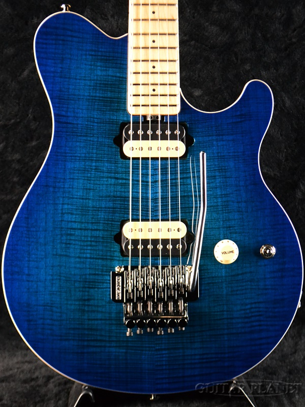 MusicMan Axis -Balboa Blue Burst- new article [music man] [axis] [balboa blue burst, blue] [Electric Guitar, electric guitar]