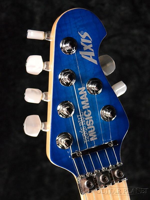 MusicMan Axis-Balboa Blue Burst-新货[乐曲人员][轴][巴波亚蓝色爆裂,蓝][Electric Guitar,电子吉他]