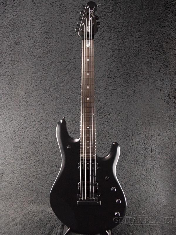 MusicMan JP7 John Petrucci Signature Stealth Black 新品[ミュージックマン][ジョンペトルーシ][7strings,7弦][ステルスブラック,黒][Electric Guitar,エレキギター]