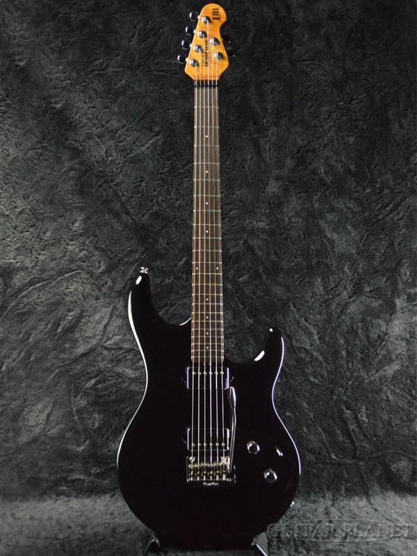 MusicMan Luke III -Black- 新品[ミュージックマン][Steve Lukather,スティーヴ・ルカサー][ブラック,黒][Stratocaster,ストラトキャスタータイプ][Electric Guitar,エレキギター]