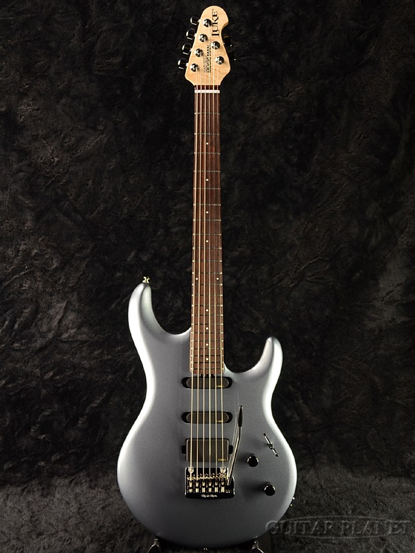 MusicMan LUKE -Luke Blue- 新品[ミュージックマン][ルーク][TOTO,Steve Lukather,スティーヴルカサー][EMGピックアップ搭載][ルークブルー,青,銀][Electric Guitar,エレキギター]