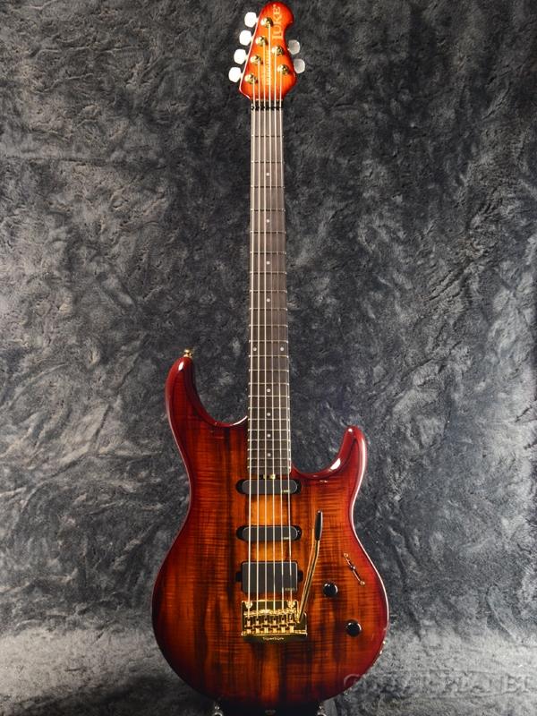 MusicMan LUKE BFR KOA 新品[ミュージックマン][ルーク][Steve Lukather,スティーブ・ルカサー][Stratocaster,ストラトキャスタータイプ][Electric Guitar,エレキギター]