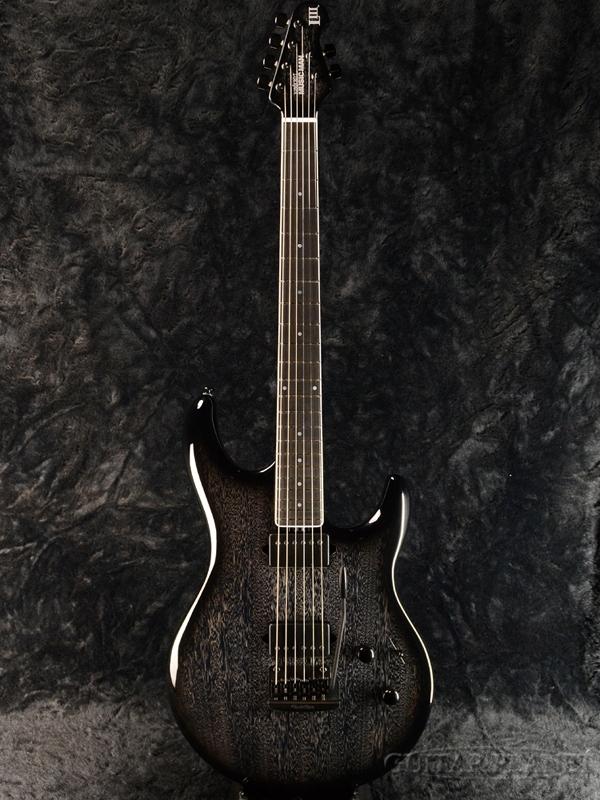 MusicMan LIII BFR HH -Tumescent- 新品[ミュージックマン][Steve Lukather,スティーブ・ルカサー][チューメセント,黒][Stratocaster,ストラトキャスタータイプ][Electric Guitar,エレキギター]