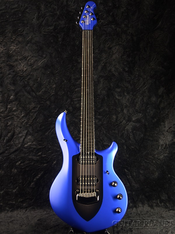 Guitar Planet Musicman Majesty 6 String Siberian Sapphire Brand New