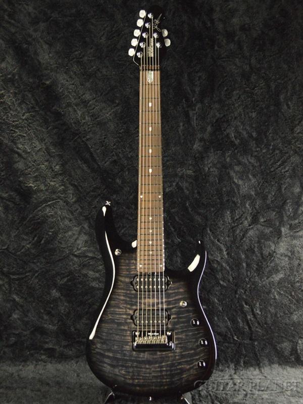 【新品特価】MusicMan JP7 BFR -Trans Black- 新品アウトレット[ミュージックマン][John Petrucci,ジョン・ペトルーシ][トランスブラック,黒][7弦][Stratocaster,ストラトキャスタータイプ][Electric Guitar,エレキギター]