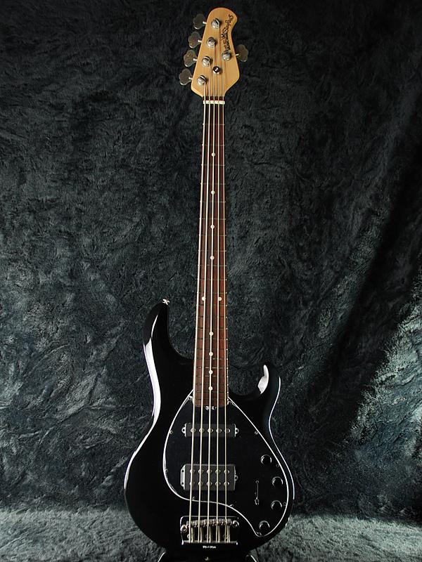 【受注生産】MusicMan Stingray 5 HS 新品 ブラック[ミュージックマン][スティングレイ][5弦,5strings][Active,アクティブ][Black,黒][Electric Bass,エレキベース]