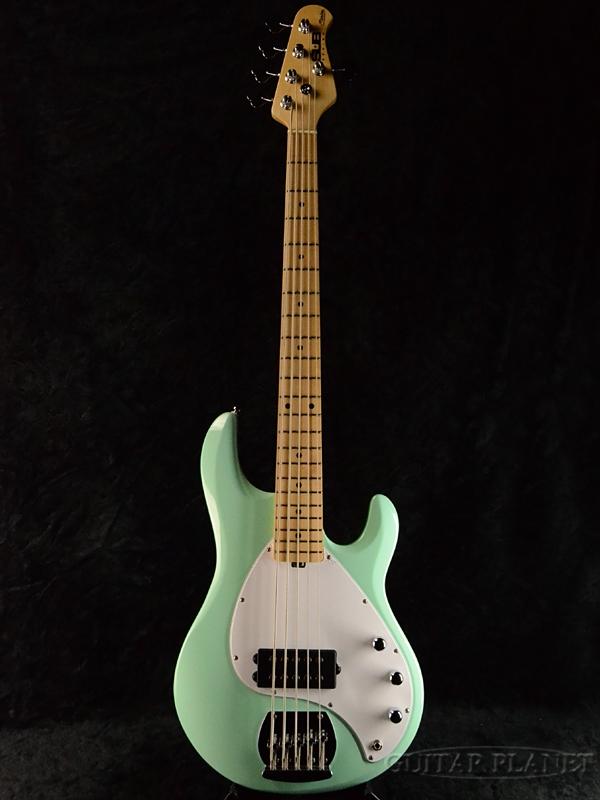 Sterling by Sterling MUSIC MAN MUSIC Ray5 -Mint Green/M- by 新品[スターリン][ミュージックマン][スティングレイ][ミントグリーン][5strings,5弦][Electric Bass,エレキベース], ハマキタシ:2bf5b943 --- sophetnico.fr