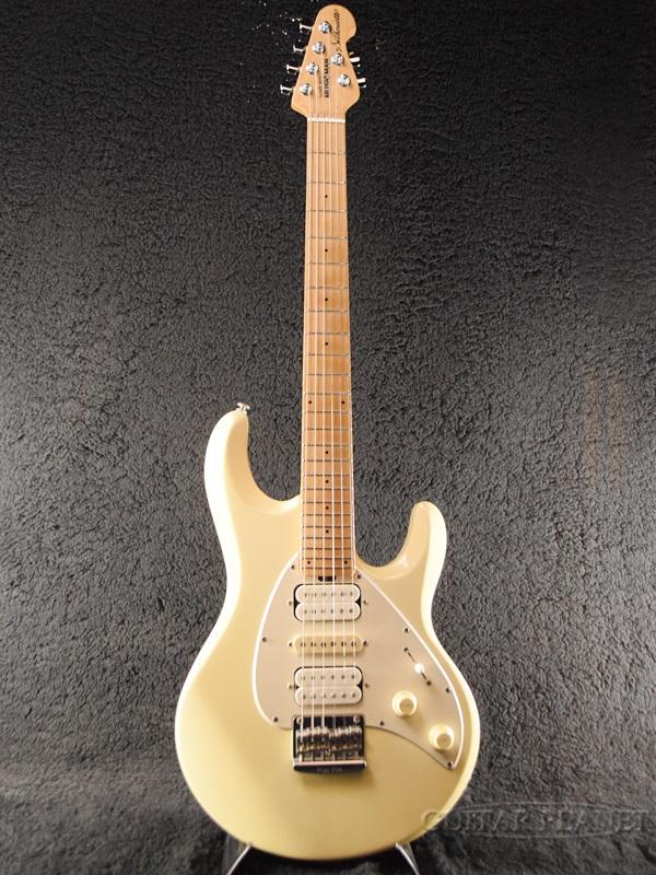 【中古】MusicMan Silhouette -White- 2005年製[ミュージックマン][シルエット][ホワイト,白][Stratocaster,ストラトキャスタータイプ][Electric Guitar,エレキギター]【used_エレキギター】