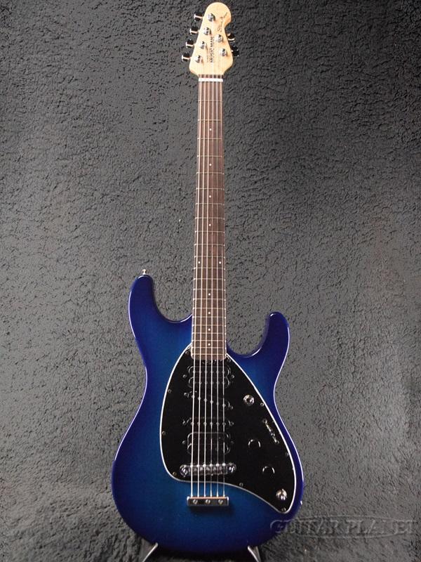 MusicMan Steve Morse Signature Morse Blue Burst 新品[ミュージックマン][スティーヴ・モーズ][モースブルーバースト,青][エレキギター,Electric Guitar]