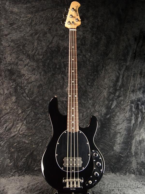 【アウトレット特価】MusicMan StingRay 4 -Black- 新品[ミュージックマン][スティングレイ][Electric Bass,エレキベース]