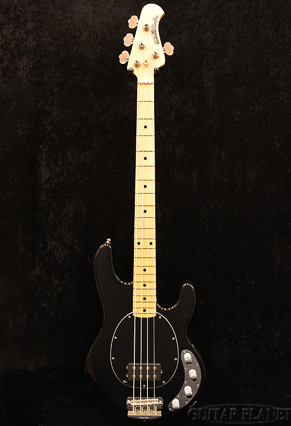 MusicMan StingRay 4 -Black/Maple- 新品 [ミュージックマン][スティングレイ][ブラック,黒][Electric Bass,エレキベース]