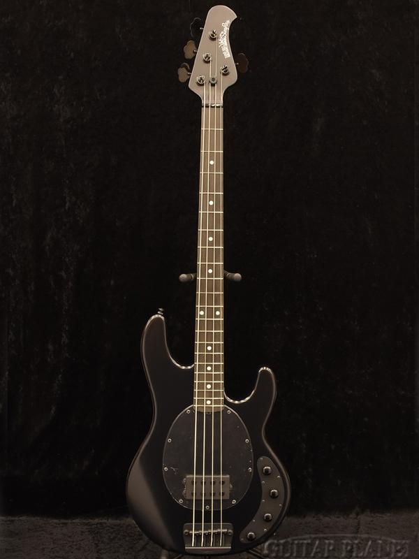 MUSICMAN Stingray 4 -Stealth Black- 新品[ミュージックマン][Stingray,スティングレイ][ステルスブラック,黒][Electric Bass,エレキベース]