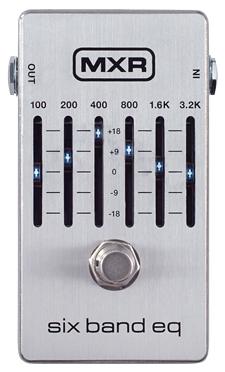 MXR 6 Band Graphic EQ M-109S 新品[Equalizer,イコライザー,グライコ][エフェクター,Effector][M109S]_cde