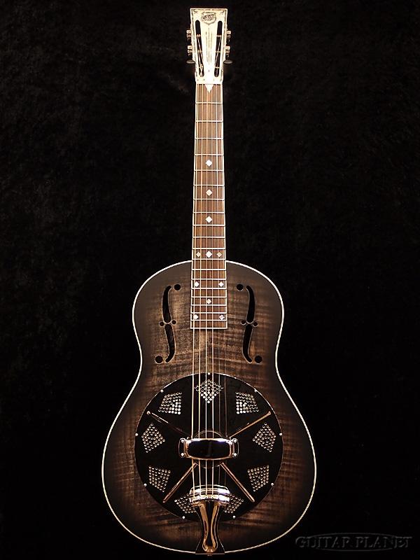 国家 Estralita 豪华跨黑新 [国家] [黑色,黑色] [谐振腔,是一种谐振器] [原声吉他,吉他,吉他,