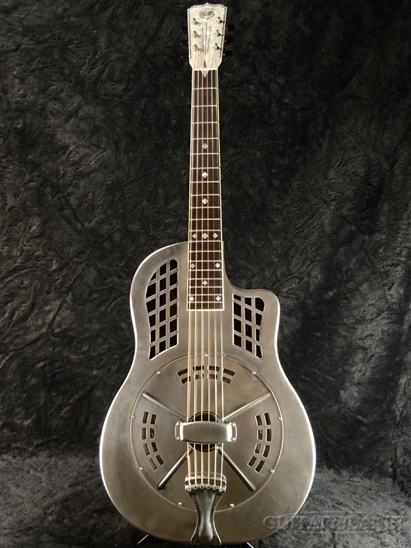National ~Resophonic~ Resorocket Steel #22517 新品[ナショナル][リゾレクトリック][Acoustic Guitar,アコースティックギター]