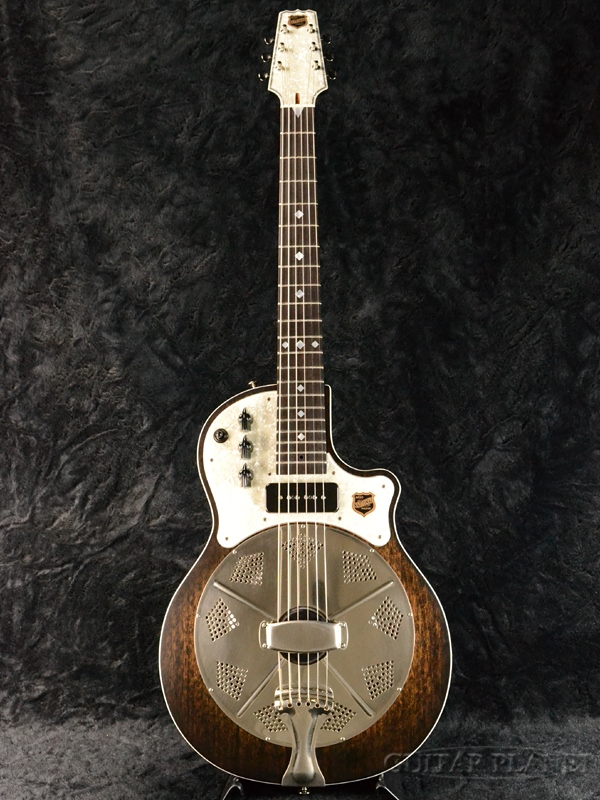 National Resolectric Revolver Finish #21771 新品[ナショナル][リゾレクトリック][リボルバー][エレクトリックリゾネーター][Electric Acoustic Guitar,アコースティックギター,エレアコ]